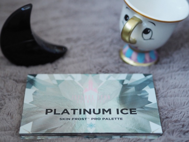 Jeffree Star Platinum Ice Skin Frost Pro Palette.